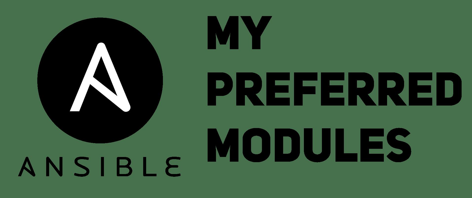 Ansible  My preferred modules - GAINANOV PRO - BLOG